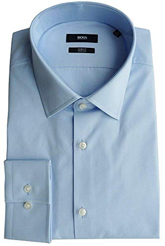 BOSS Hugo Chemise GR. 44 (17.5), Slim Fit, Two Ply, Forme : Jenno, 50281330