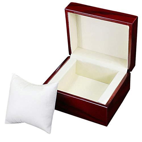 Katigan Einzige H?Lzern Uhr Box Wein Rot Uhr Aufbewahrungs Box Geschenk Box Vitrine Mechanische Uhr Geschenk Box