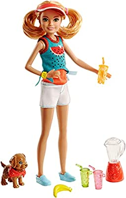 Barbie Sisters Stacie Doll and Juice Stand
