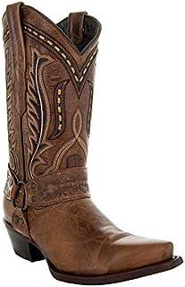 Soto Boots Women's Broad Square Toe Cowboy Boots M50039