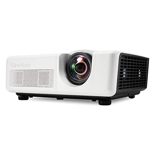 ViewSonic LS625W 3200 Lumens DLP WXGA Short Throw Projector with Horizontal and Vertical Keystone, WXGA Fixed Zoom