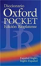 Diccionario Oxford Pocket Para Estudiantes De Ingles Edicion Rioplatense (English and Spanish Edition)