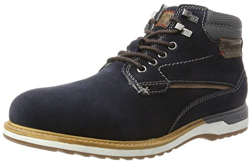 bugatti Herren 321357511400 Klassische Stiefel, Blau, 42 EU