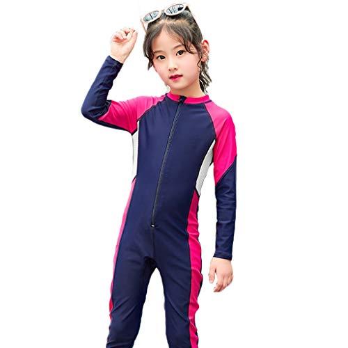 YULAN Zipper Teens neopreenpak duikpak Siamese Large Size Elastisch lange mouwen badpak snorkelen zeilboot kano zwemmen surfplank zonnecrème