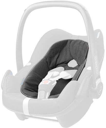 Maxi Cosi Einlage für Pebble Plus / BabyHugg Inlay for Pebble Plus, Farbe: Black Raven