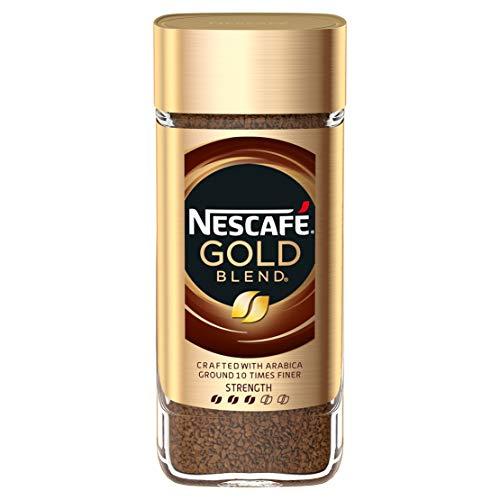 NESCAFÉ GOLD Blend Instant Coffee Jar, 100 g (Pack of 6)