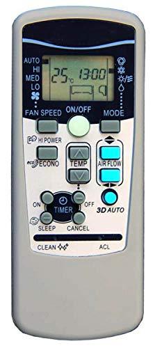 Mitsubishi - Mando a distancia para aire acondicionado Heavy Industries RKX502A001, aire acondicionado, climatizador, bomba de calor, inverter