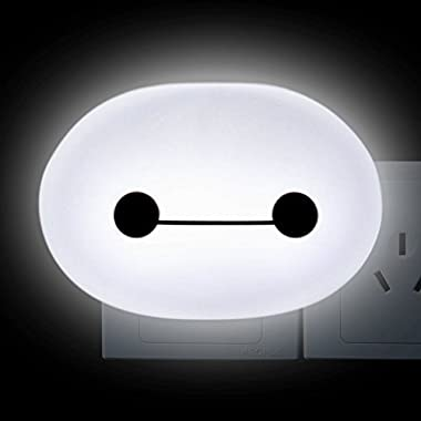 FAMI LED Wall Light Night Light with Photosensitive Switch - White Color