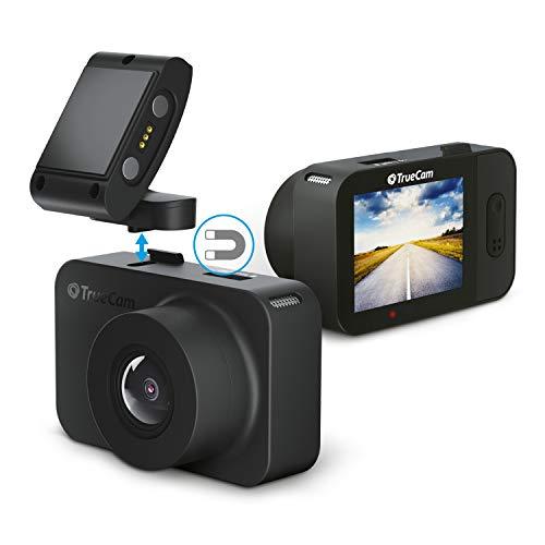 TrueCam M5 WiFi Mini Dashcam Auto Kamera - Videoregistrator Für Auto - Kompakte Autokamera Dash Cam Full HD 1080p Mit Nachtsicht, Wifi, WDR Und Parkmodus