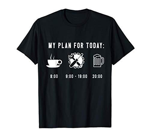 Divertido Regalo Gráfico Mecánico Camiseta