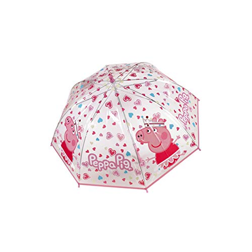 PEPPA PIG parapluie Transparent (rose / violet)