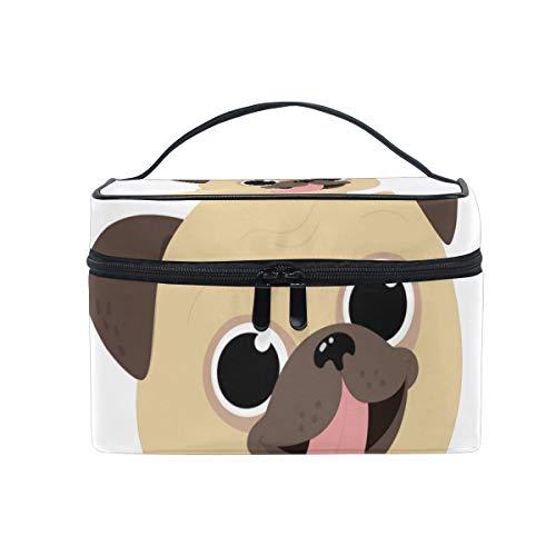 コスメポーチ 化粧ポーチ 犬 かわいい 機能性 大きめ レディース 便利 大容量 収納 旅行 収納 メイク道具 雑貨 小物入れ 使いやすい 化粧品 収納ケー