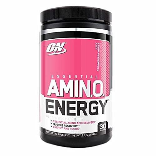 Optimum Nutrition Amino Energy, Fruit Fusion - 30 Porciones, 270g