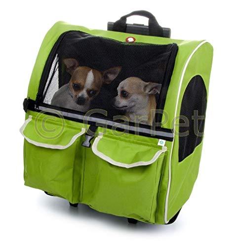 JK Hunde Katzen Trolley Rucksack Transporttasche Transport Tasche Box Transportbox