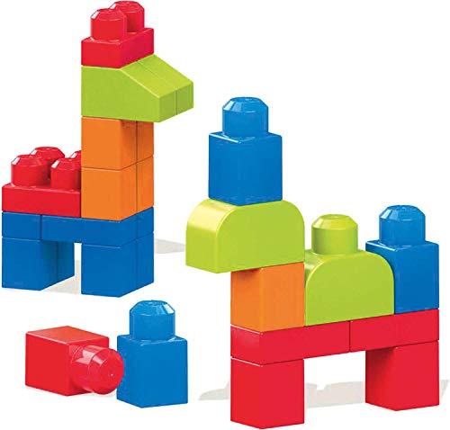 Mega Bloks Juego de Construcción Vamos a Construir, 40 Piezas