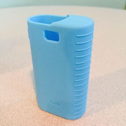 Silicone Case Cover for eLeaf iStick 50w box mod LogoGrip Wrap Skin Sleeve (light blue)