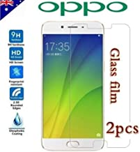 2X Oppo A57 A73 F1S R9S R9 Plus R15 R17 Pro Tempered Glass/Screen Protector (Clear Plastic Protector, Oppo R9S)