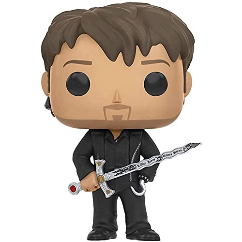 Funko Pop Television : Once Upon a Time - Hook with Excalibur 3.75inch Vinyl Gift for Television Fans SuperCollection