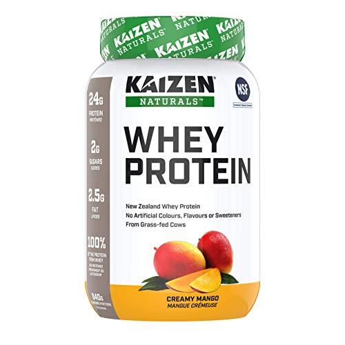 Kaizen Naturals Whey Protein, Creamy Mango, 840 g