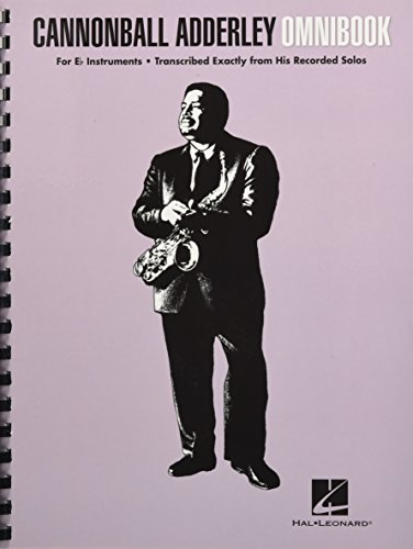Cannonball Adderley: Omnibook - For E Flat Instruments