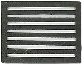 Hoekrooster fornuis asrooster gietijzeren rooster verschillende diameters 21x15cm