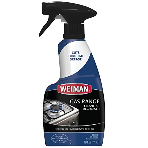 Weiman Gas Range Cleaner & Degreaser fl 12 oz - 6 pack