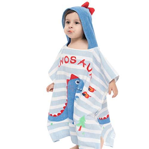 Kinder Badetuch Kapuzen Handtuch Kleinkind Jungen Mädchen Strandtuch Baumwolle Poncho Bademantel für Strand Schwimmen Dusche