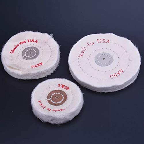 Purchase Xucus Metal jade wood polishing cloth wheel 3 inch 4 inch 5 inch 6 inch 8 inch 10 inch clot...