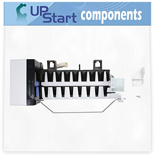 2198597 Refrigerator Ice Maker Assembly Replacement for Whirlpool ED5LHAXMQ10 - Compatible with W10190960 AP3182733 Icemaker