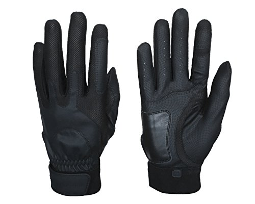 Zero Friction Sportsman's Gloves Black (Pair), Great for Hunting, Fishing, Camping, and Shooting, Universal-Fit
