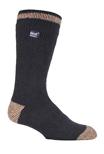 Heat Holders Herren Thermo-Socken, gemustert, warm, für den Winter, gestreift, in 10 Farben, Größe 39 - 45 Gr. Large, Uppingham