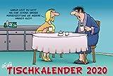 Uli Stein Tischkalender - Kalender 2020 - Lappan-Verlag - Monatskalender