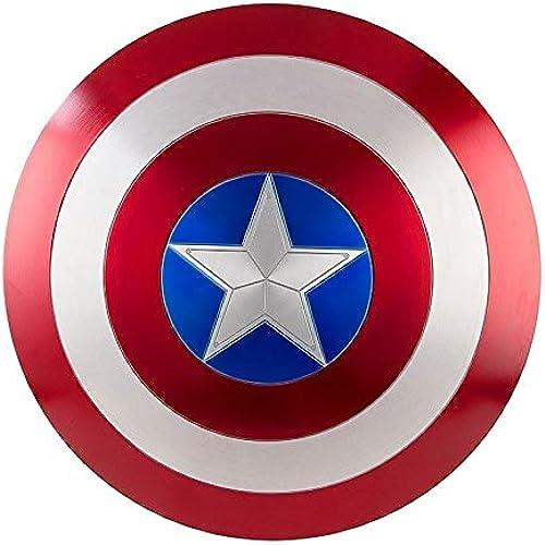 Tu satisfacción es nuestro objetivo DMAR DMAR DMAR Escudo del Capitán América, Escudo de plástico de 57 cm, Serie Avengers Legends, réplica de Marvel Prop