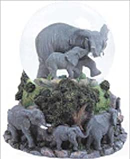 WLM Elephants Musical Snow Globe - Born Free