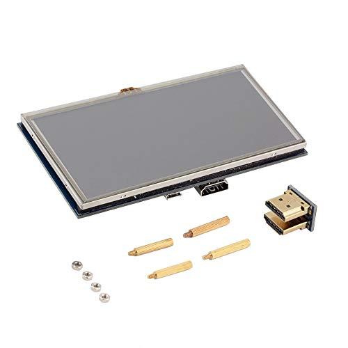 DIY 5-Zoll-LCD-High-Definition Multimedia Port Resistive Touch-Screen-Display TFT-LCD-Panel-Modul 800 * 480 for Banana Pi Raspberry Pi 2 Raspberry Pi 3 Modell B/B + Hobby & Wohnen