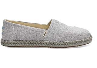 TOMS Women's Alpargata Espadrille, Size: 6 B(M) US, Color: Drizzle Grey Slub Chambra (B07FYC8V7T) | Amazon price tracker / tracking, Amazon price history charts, Amazon price watches, Amazon price drop alerts