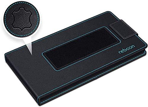 Hülle für LG Stylus 2 Plus Tasche Cover Hülle Bumper   Schwarz Leder   Testsieger