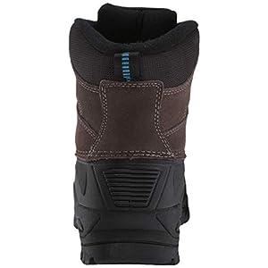TECS mens Winter, Snow, Boot, Bootie Brown 11 ,medium