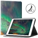 Funda para iPad 9.7 La Tienda Brilla bajo el Cielo Nocturno Lleno de Estrellas 2018/2017 iPad 5.ta / 6.a generación iPad 9.7 Funda para Hombres También se Ajusta iPad Air 2 / iPad Air Auto W