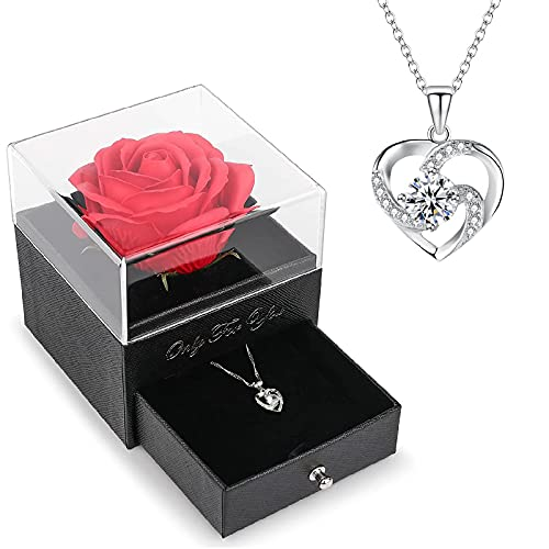 Nvseaty - Collar para mujer, collar de mujer, regalo de boda, pareja, regalo para mamá, cumpleaños, San Valentín, regalo para mujer, madre, madre, etc.