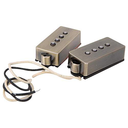 Mit Installationswerkzeugen Set 4-saitiger Bassgitarren-Tonabnehmer für Gitarrenliebhaber für Gitarrenliebhaber, DIY-Liebhaber.