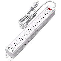 NvTias 8 Ft Long Power Strip
