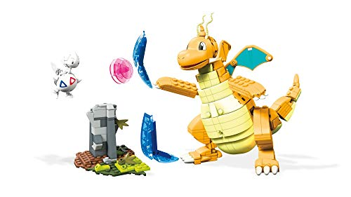 Mega Construx Pokemon Figuras Dragonite vs. Togetic