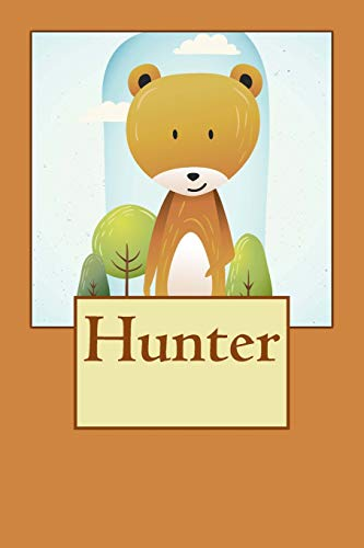 Hunter: Bear Personalized Name 100 Lined Journal Pages   Diary   6