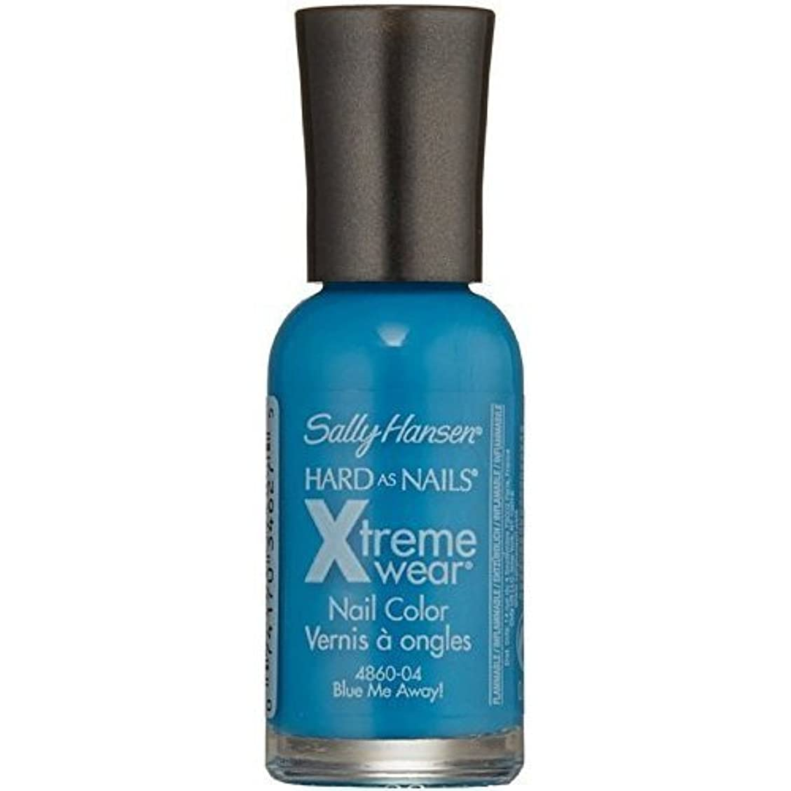 レタッチ単語社会主義者SALLY HANSEN Hard As Nails Xtreme Wear - Blue Me Away! (並行輸入品)