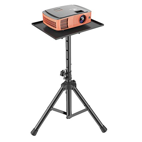 Projector Laptop Stand, Multifunctional DJ Racks Stand, Adjustable Height Tripod, Foldable Notebook Computer Stand, Perfect for Office, Home, Stage or Studio by AMADA HOMEFURNISHING