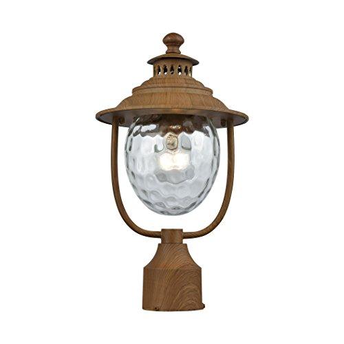 Elk Lighting 45142/1 Searsport 1 Outdoor Dark Wood Post Mount