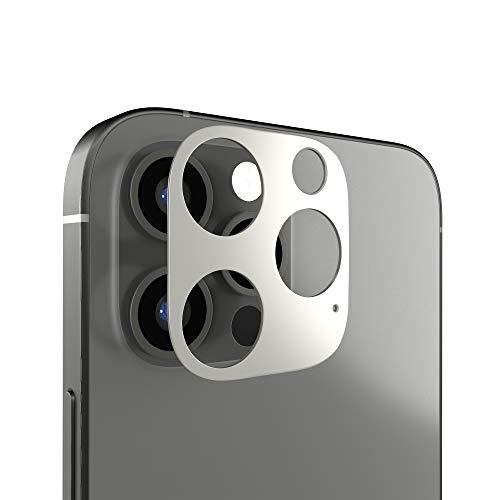 innoGadgets Kameraschutz kompatibel mit iPhone 12 Pro   Passgenauer Kamera Schutz gegen Stöße und Kratzer   staubfrei installieren mit Reinigungs-Set   Aluminiumrahmen in Graphit