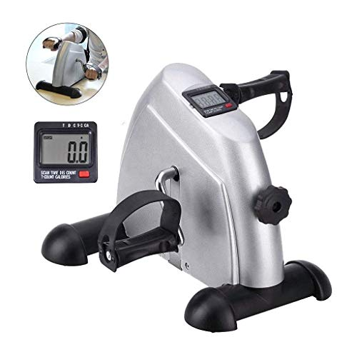 Voroly Plastic, Stainless Steel, Rubber Ab Exercise Bike Cycle, Black, Silver