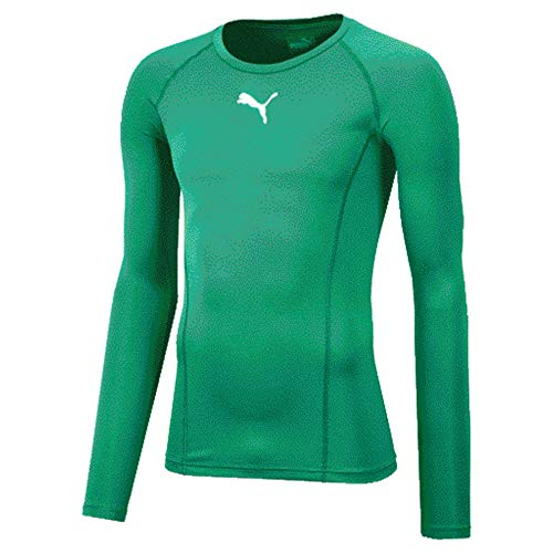 PUMA Erwachsene Liga Baselayer Tee Ls T Shirt, Grün (Pepper Green), S